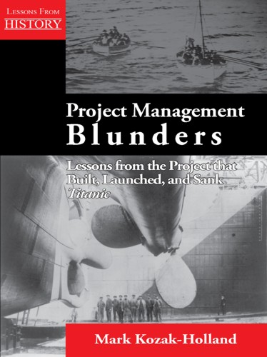 Project Management Blunders book