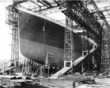 Titanic  Project - Construction - Bow