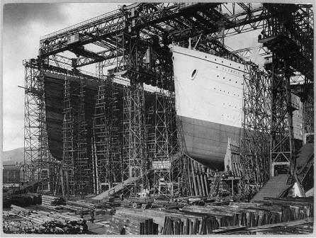 Construction Olympic & Titanic