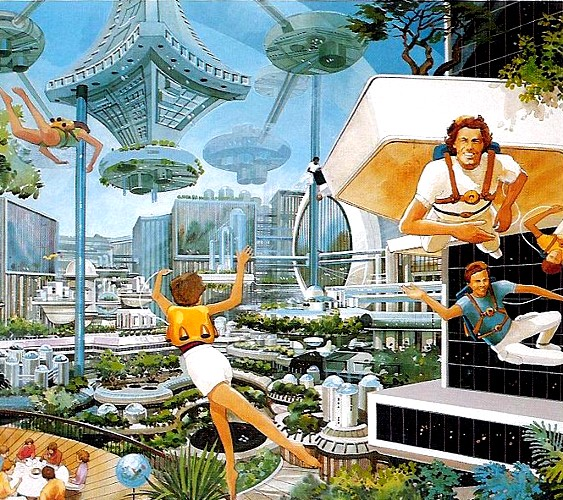 1970s view of the future and leisure