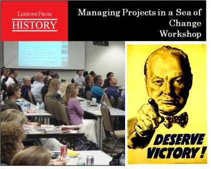 Workshop - Managing Projects in a Sea of Change